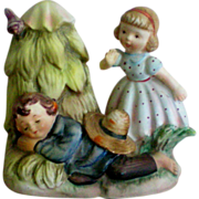 Lefton Figurine – Little Boy Blue