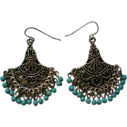 Fabulous India Beaded Dangle Earrings