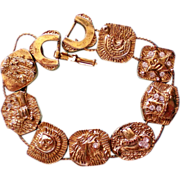 Cowboy / Cowgirl Metal Slider Bracelet