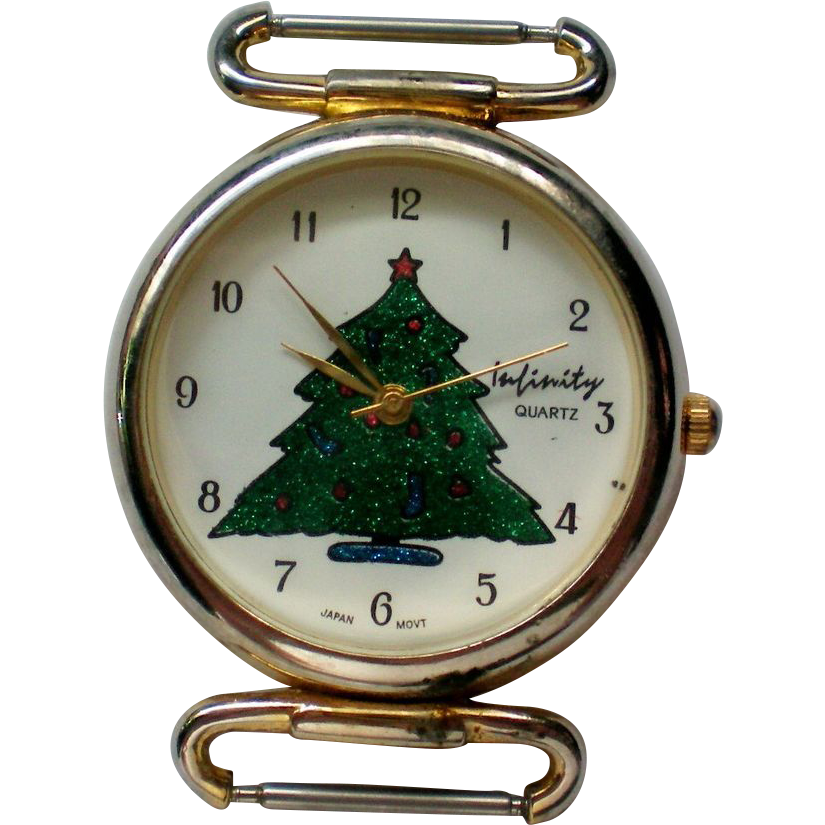 Christmas tree watch for the holidays from manorsfinest on