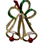 Gerry's Holiday Christmas Bells Pin