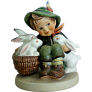 "Hummel Boy ""Playmates"" Figurine"