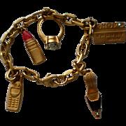 Avon Shopping Charm Bracelet