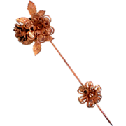 Stanley Hagler NYC Floral Stick, Hat, Lapel, or Dress Pin