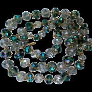 Kenneth Cole Blue Swarovski Crystal Necklace