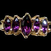 "Avon ""Marquis Sparkle"" 1993 Anniversary Ring"