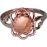 Mother of Pearl Pinkie Ring from Park Lane