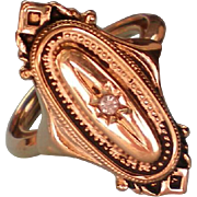"Avon Victorian Revival ""Kensington"" Adjustable Ring"