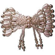 Large Faux Pearl Hair Ornament
