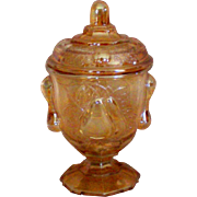 ePear Covered Compote or Candy Jar