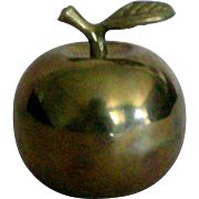 Brass Apple Bell for the Teacher