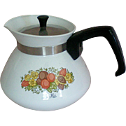 "Corning Ware ""Le The'"" Six Cup Tea Pot"