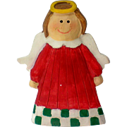 Christmas or Holiday Angel Pin