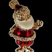 Santa Pin for Christmas / Holidays