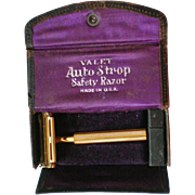 Valet Auto Strop Safety Razor in Original Box