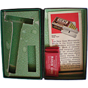 New GEM Micromatic Razor Box with Original Inserts
