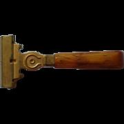 Schick Injector Razor with Bakelite Handle