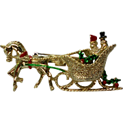 Gerry's Horse Drawn Sleigh for Christmas Holidays