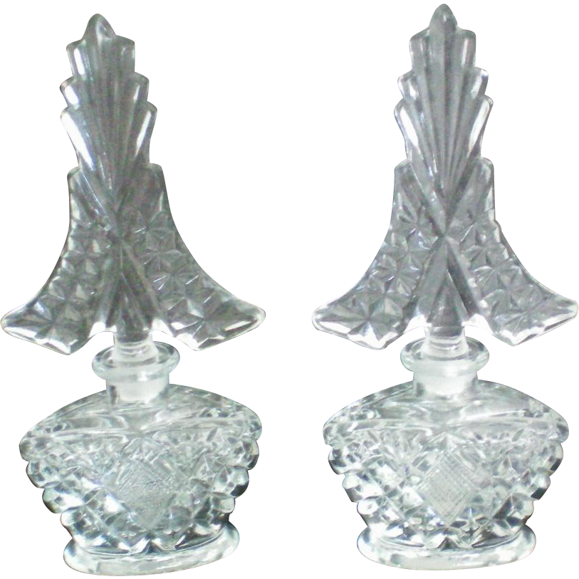 I w rice identical glass perfume bottles the manor 39 s for How to smooth cut glass bottles