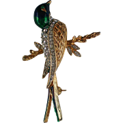Sphinx Inspired Song Bird Pin