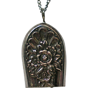 Swiss Bell Charm or Pendant Necklace