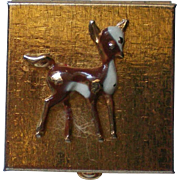 Bambi Deer Purse Pill Box