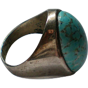 Sterling Silver Robin's Egg Turquoise Ring