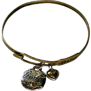 Brighton Brass Bracelet with Charms