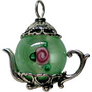 Tiny Tea Pot Pendant