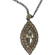 Sparkling Diamond / Edwardian Look Pendant