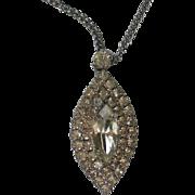 Sparkling Diamond / Edwardian Look Pendant
