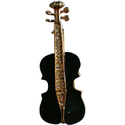 Violin, Cello or Viola Figural Pin