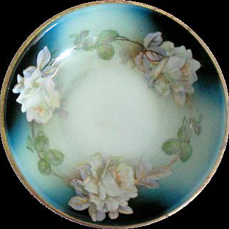 German Porcelain Serving Bowl