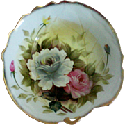 Pretty Deep Floral Porcelain Bowl