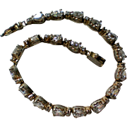 Sterling Silver Crystal CZ Tennis Bracelet