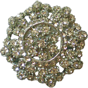 Dazzling Multi-Layered Pot Metal Paste Brooch