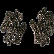Marquisate Pierced Earrings