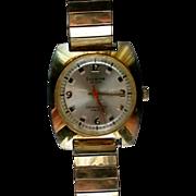 Gentleman's Lucerne De Luxe Swiss Movement Antimagnetic Wrist Watch
