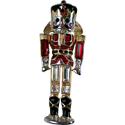 Monet Nutcracker Toy Soldier Holiday / Christmas Pin
