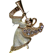 Monet Angel Pin for Christmas / Holidays in Original Box