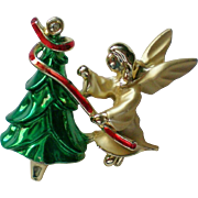 Artist Louis Giusti Christmas Holiday Pin by Gigio