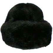 Dark Brown Sable Mink Ladies Hat