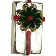 Miniature Christmas Present Pin