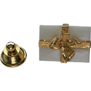Small Tie Tack Hat Pin Christmas Present Pin
