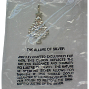 Sterling Silver Christmas Tree Pendant from Avon