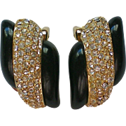 Christian Dior Grosse Clip Earrings