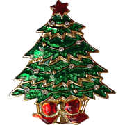 Christmas Tree Pin for the Holidays
