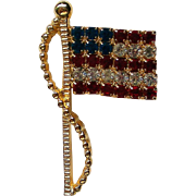 Signed American Flag Pin