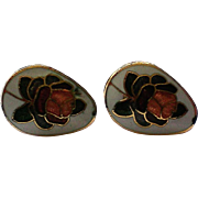 Petite Cloisonné Pierced Earrings