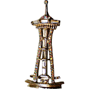 Seattle Space Needle Pin by C & A Century